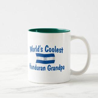 Coolest Honduran Grandpa Two-Tone Coffee Mug