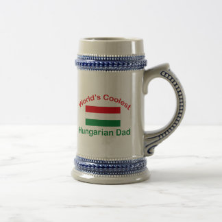 Coolest Hungarian Dad Beer Stein