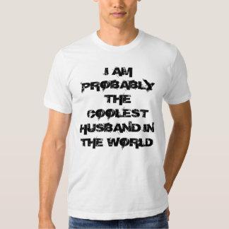 Coolest husband t-shirt