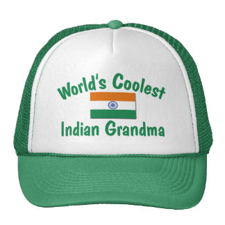 Coolest Indian Grandma Trucker Hat