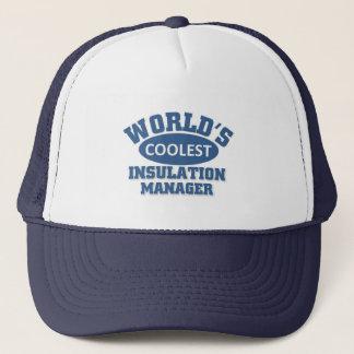 Coolest Insulation Manager Trucker Hat