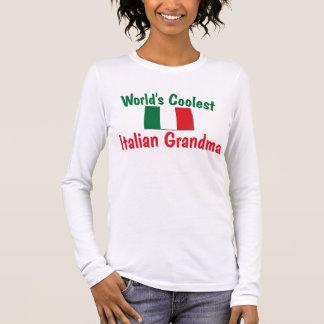 Coolest Italian Grandma Long Sleeve T-Shirt