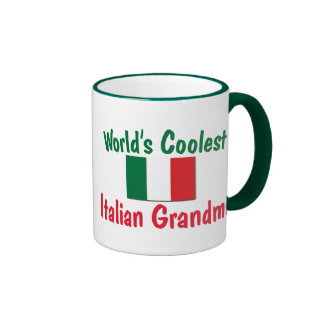 Coolest Italian Grandma Ringer Mug