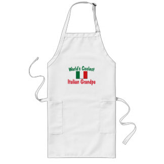 Coolest Italian Grandpa Long Apron