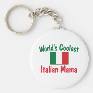 Coolest Italian Mama Key Chain