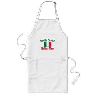 Coolest Italian Mom Long Apron