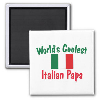 Coolest Italian Papa Magnets