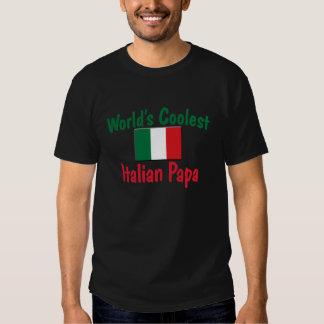 Coolest Italian Papa T-shirt