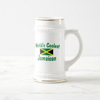 Coolest Jamaican 18 Oz Beer Stein
