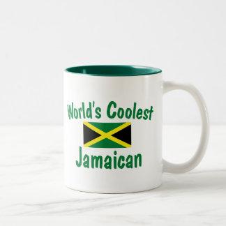 Coolest Jamaican Two-Tone Coffee Mug