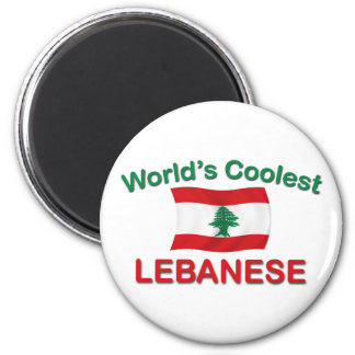 Coolest Lebanese 2 Inch Round Magnet
