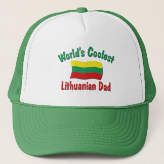 Coolest Lithuanian Dad Trucker Hat