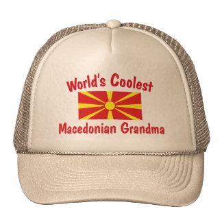 Coolest Macedonian Grandma Trucker Hat