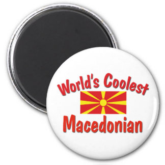Coolest Macedonian 2 Inch Round Magnet