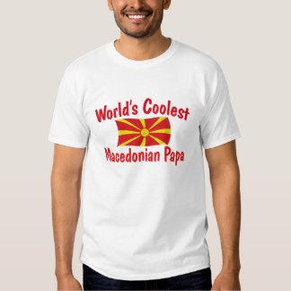 Coolest Macedonian Papa Shirt