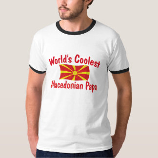 Coolest Macedonian Papa T Shirt