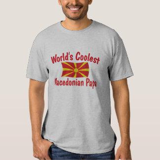 Coolest Macedonian Papa T-shirt