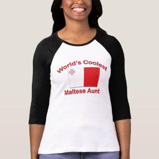Coolest Maltese Aunt Shirt