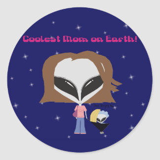 Coolest Mom on Earth! Sticker