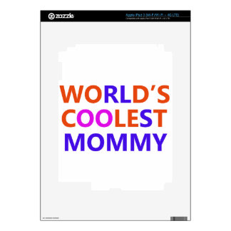 coolest mommy iPad 3 skins