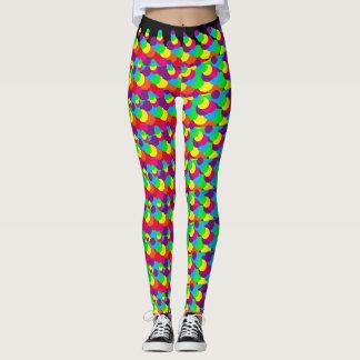 Coolest Neon Colors Leggings