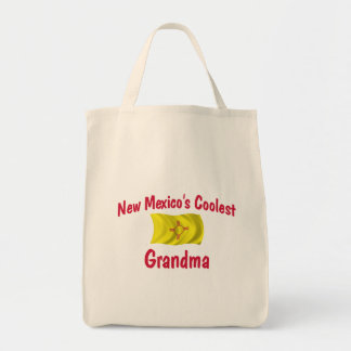 Coolest New Mexico Grandma Canvas Bags