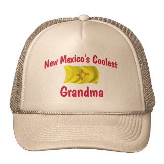 Coolest New Mexico Grandma Trucker Hat