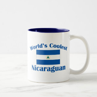 Coolest Nicaraguan Two-Tone Coffee Mug