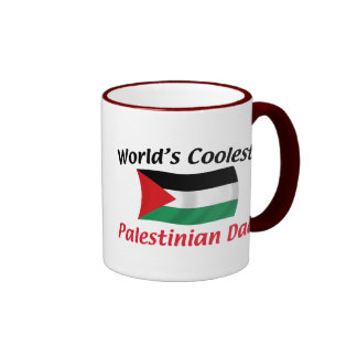 Coolest Palestinian Dad Ringer Coffee Mug