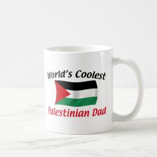 Coolest Palestinian Dad Classic White Coffee Mug