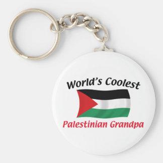 Coolest Palestinian Grandpa Basic Round Button Keychain
