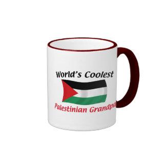 Coolest Palestinian Grandpa Ringer Coffee Mug