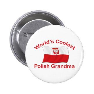 Coolest Polish Grandma Buttons