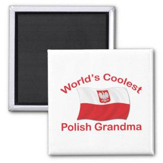 Coolest Polish Grandma Fridge Magnet