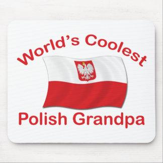 Coolest Polish Grandpa Mousepads