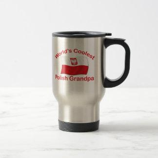 Coolest Polish Grandpa Travel Mug