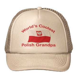 Coolest Polish Grandpa Trucker Hat