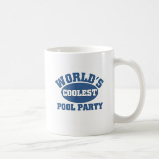 Coolest Pool Party Mugs