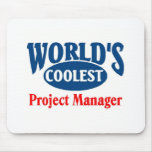 Coolest Project Manager Mouse Pads