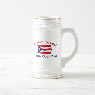 Coolest Puerto Rican Dadl Coffee Mugs