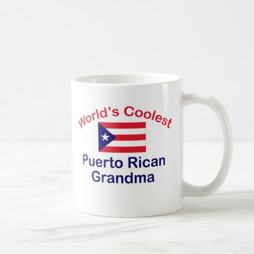 Coolest Puerto Rican Grandma Mugs