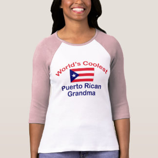 Coolest Puerto Rican Grandma T-Shirt