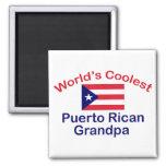Coolest Puerto Rican Grandpa Fridge Magnet
