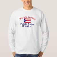 Coolest Puerto Rican Grandpa T-Shirt