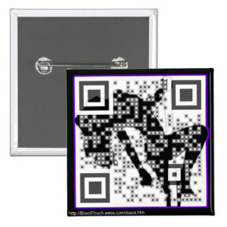 Coolest. QR Code. Ever. Pins
