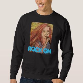 Coolest Rock Girl Rock On Sweatshirt