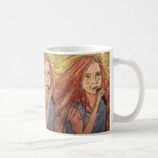 Coolest Rocker Girl art Coffee Mug