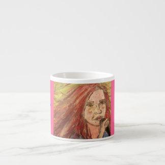 Coolest Rocker Girl Espresso Cup