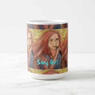 Coolest Rocker Song Girl art Coffee Mug