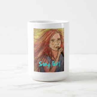 Coolest Rocker Song Girl Coffee Mug